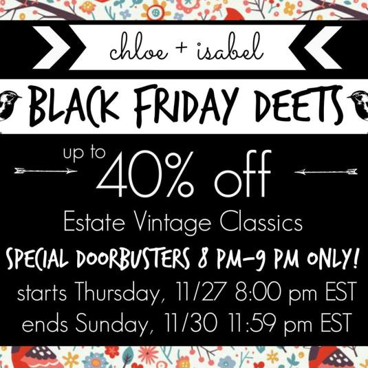 Black Friday - Up to 40% Off