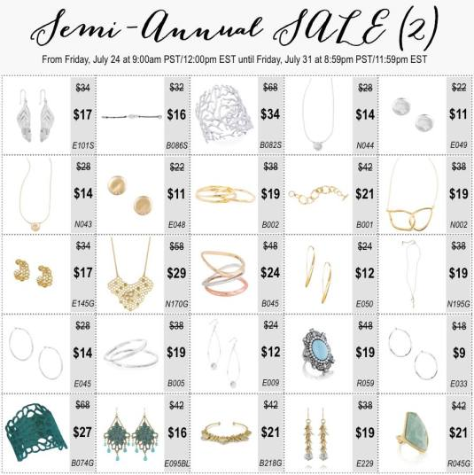 Semi-Annual Sale 2